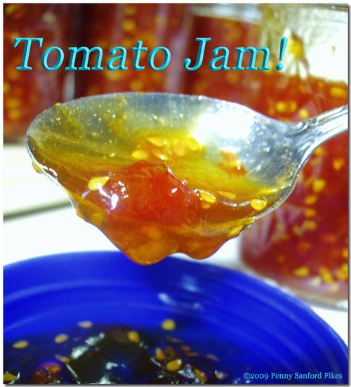 Tomato jam recipes