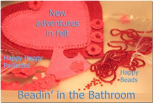 Beadininthebathroom