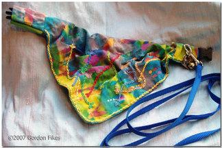 Batikcollarpleats