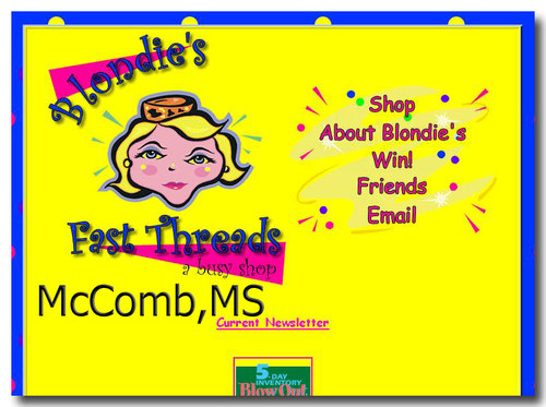 McComb, MS:  Blondie's Fast Threads