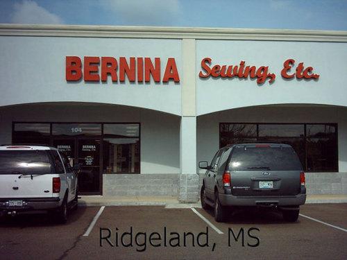Ridgeland, MS: Bernina Sewing, Etc.